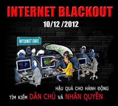 Ngày Internet Đen Vì Quyền Con Người ở Việt Nam 10.12.2012